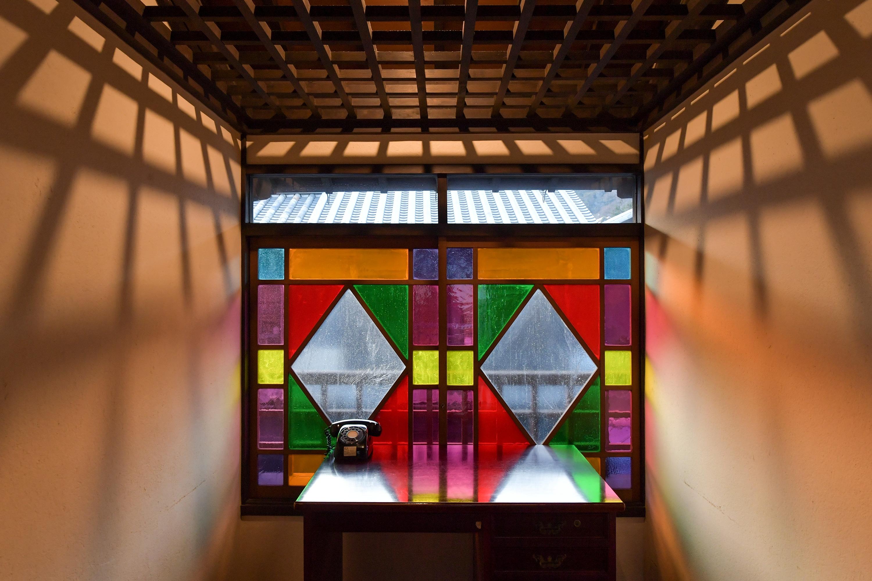 Facilities onfunayado iroha in tomonoura for Design hotel iroha