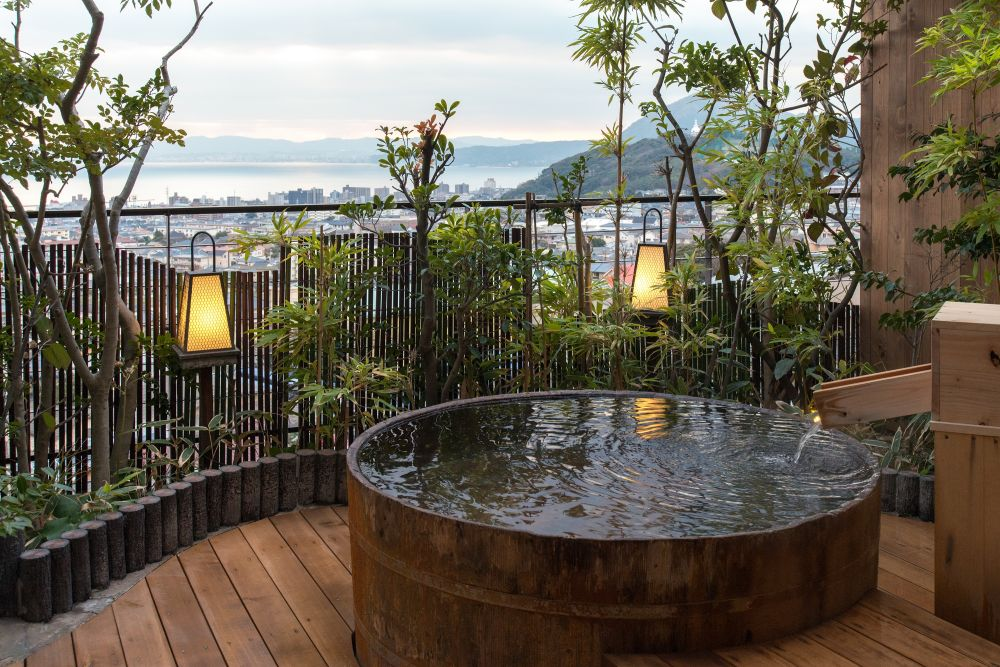 Open-air Bath | Hotel Sansuikan